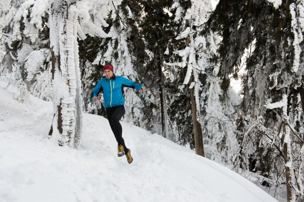 Winter trail run on snow. Autor: Lukáš Budínský (foto.lukasx.cz), Fotoaparát: Canon EOS 70D, Objektiv: 18-35mm