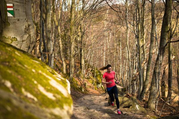 Trail running, sky running Zuzana Urbancová. Lukáš Budínský (foto.lukasx.cz),