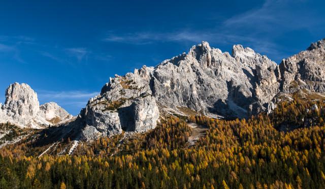 Podzim v Dolomitech. Autor: Lukáš Budínský (foto.lukasx.cz), Fotoaparát: Canon EOS 70D, Objektiv: 17-50mm
