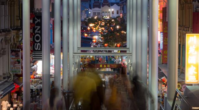 Čínská čtvrť v Singapuru. Autor: Lukáš Budínský (foto.lukasx.cz), Fotoaparát: DSC-RX100, Objektiv: 28-100mm F1.8-4.9