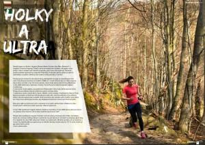 Ultra trail running v časopise Powerful, Lukáš Budínský