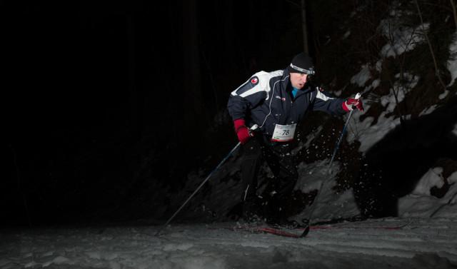 Závodník Noční Stopa ValachyTour. Autor: Lukáš Budínský (foto.lukasx.cz), Fotoaparát: Canon EOS 70D, Objektiv: 18-35mm