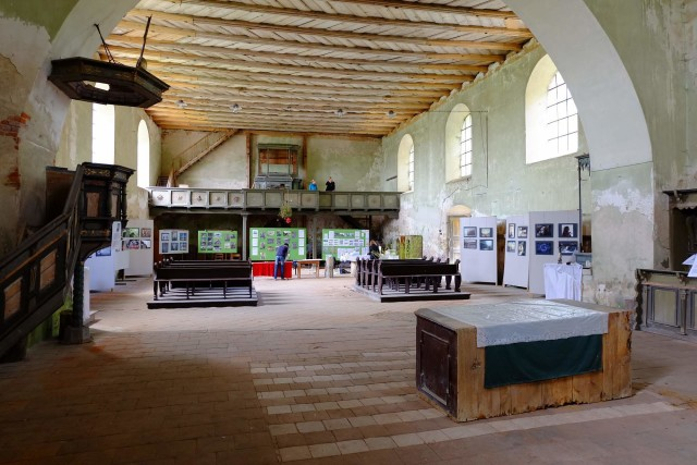 výstava fotografií Kostel sv. Wolfganga na Seebergu. Fotograf Lukáš Budínský (foto.lukasx.cz),