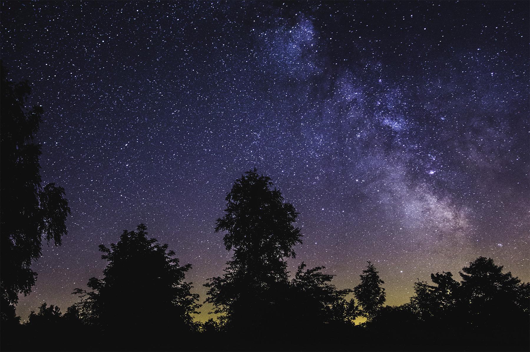 Mléčná dráha nad Pulčínem