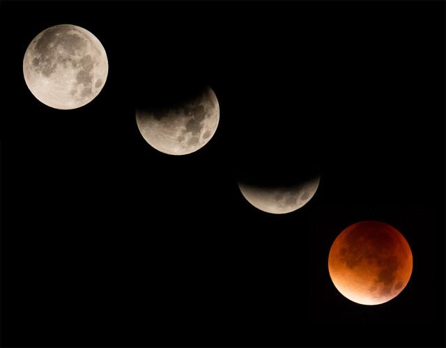 Fáze zatmění Měsíce  2015, Lukáš Budínský