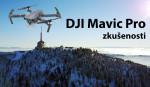 DJI Mavic Pro zkušenosti a test, Lukáš Budínský